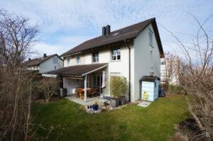 Ansicht Garten Einfamilienhaus Verkaufen Kreuzlingen Bodensee