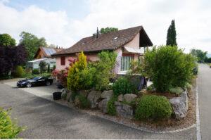Ansicht Mit Zufahrt Einfamilienhaus Verkaufen