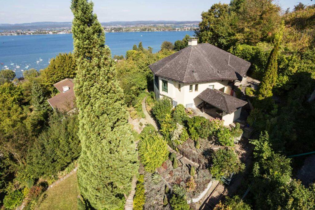 Ansicht Haus Verkaufen Salenstein Bodensee Seesicht Konstanz Reichenau Fehr Immobilienmakler