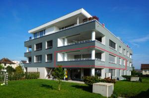 Aussenansicht Top moderne Eigentums Wohnung kaufen in Ermatingen