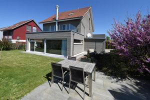 Gartenansicht - Einfamilienhaus zu verkaufen